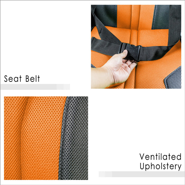 Seat Belt and Ventilated Upholstery