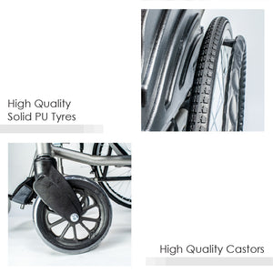 High Quality Solid PU Tyres and Castors