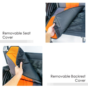 Removable Seat Cover and Backrest Cover