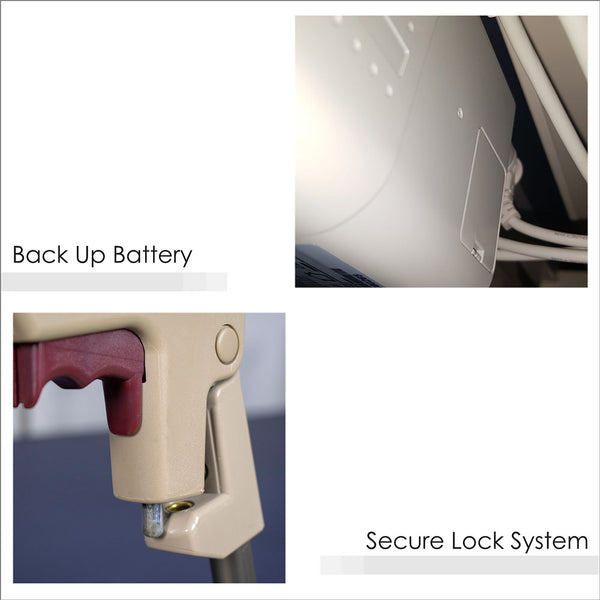 Backup Battery and Secure Lock System