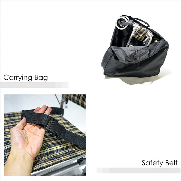 Carrying Bag and Safety Belt