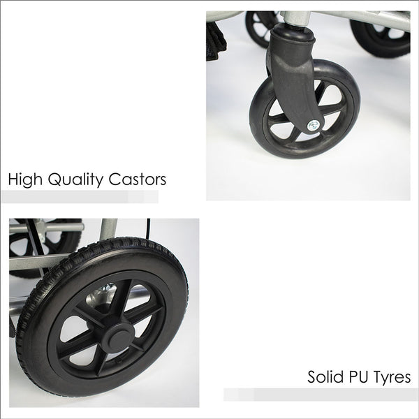 High Quality Castors and Solid PU Tyres
