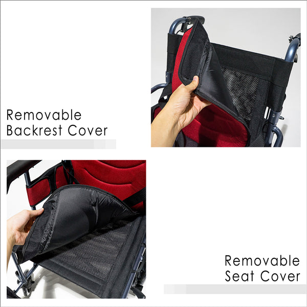 Removable Backrest Cover and Removable Seat Cover