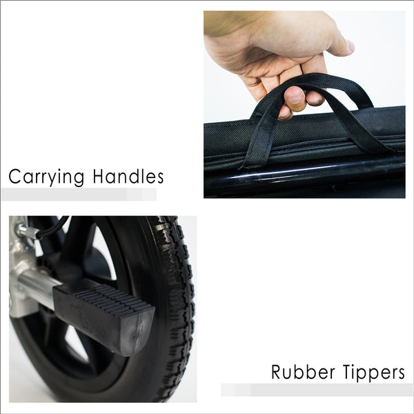 Carrying Handles and Rubber Tippers