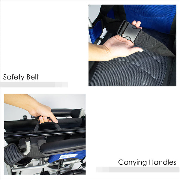 Safety Belt and Carrying Handles