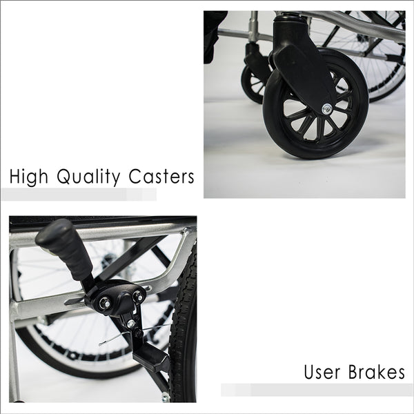 High Quality Castors and User Brakes