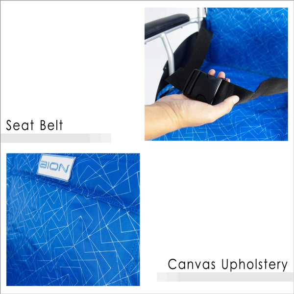 Seat Belt and Canvas Upholstery