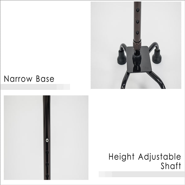 Narrow Base and Height Adjustable Shaft