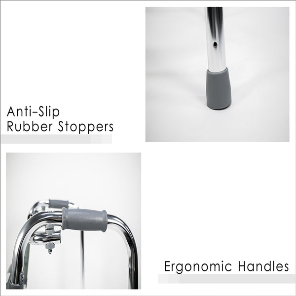 Ergonomic Handles and Anti-Slip Back Rubber Stoppers