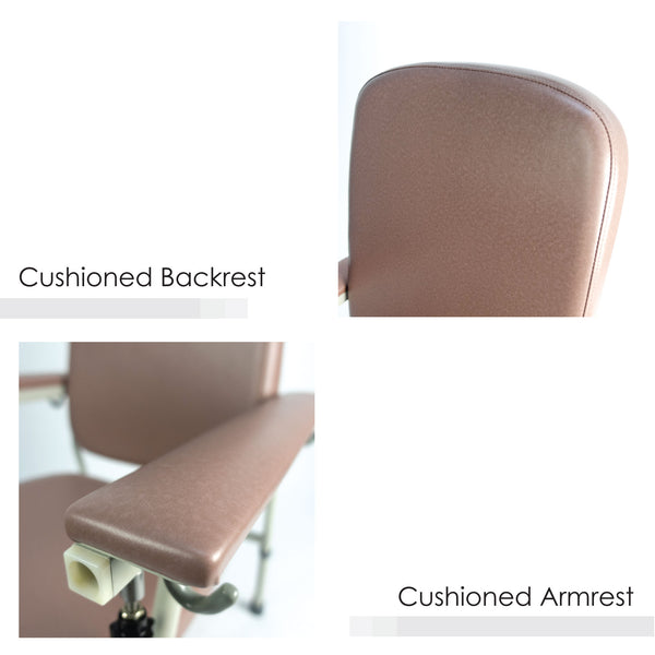 Cushioned Backrest and Cushioned Armrest