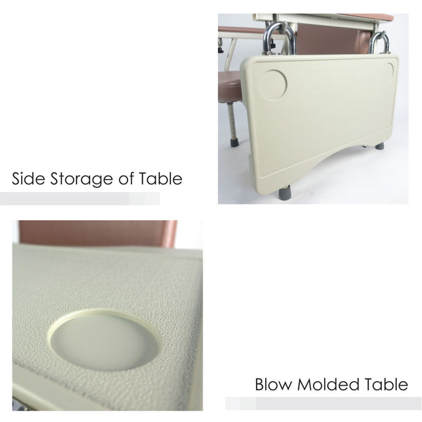 BION Geriatric Chair, Manual, Adjustable Height, Lite