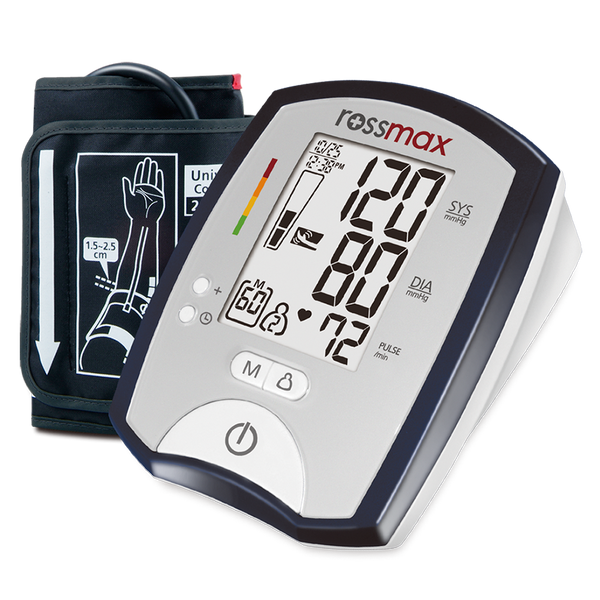Blood Pressure Monitor Main Profile and Cuff