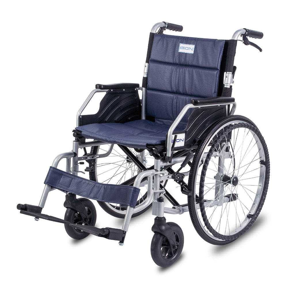 "BION iLight Wheelchair Detactable HD 20""/22"" with Foldable Backrest"