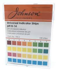 Johnson, PH Indicator, pH 0-14, 100s