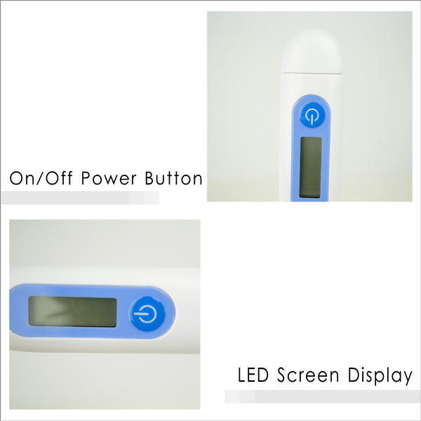 Power Button and LED Screen Display