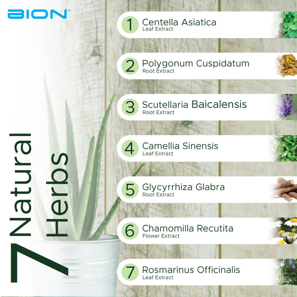 7 Types of  Natural Herbs