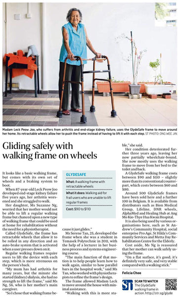 Article - Gliding Safely with Walking Frame on Wheels