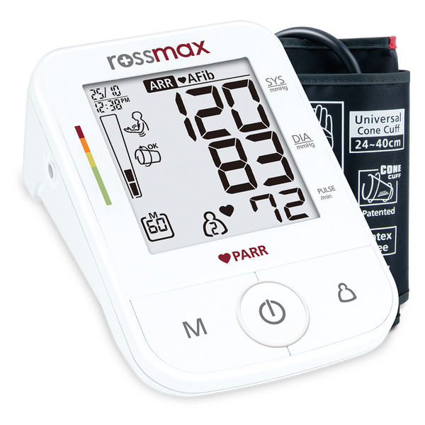 Rossmax Automatic Blood Pressure Monitor X5, w Bluetooth App