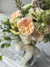 Custom designed wedding bouquet
