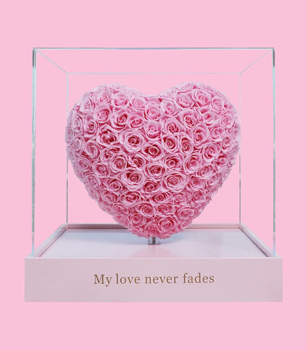 My love never fade -3D heart (pre order only)