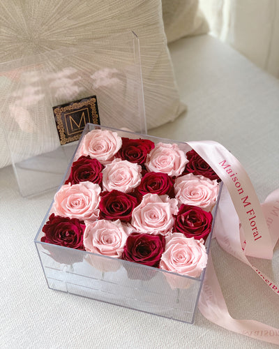 Forever Roses crystal box