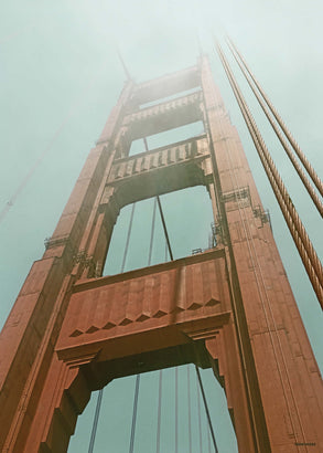 Golden Gate Bridge - plakat