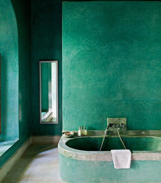 Boho soak! Moroccan bathroom inspiration
