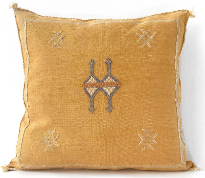 Sabra silk cushion