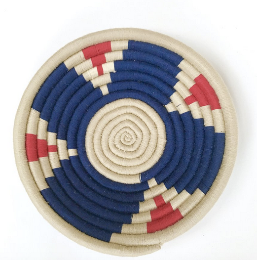 wool woven plate Moroccan design