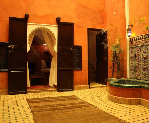 Heritage Spa hammam in Marrakech
