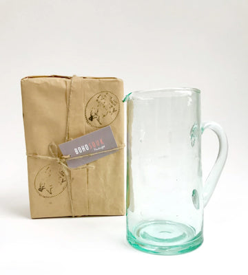 Beldi glass carafe