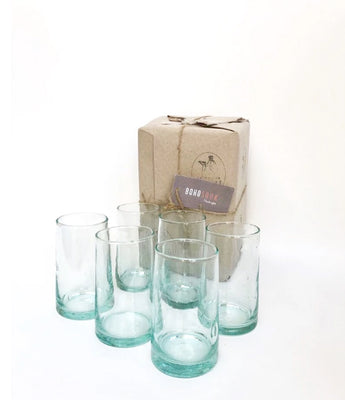 Large Beldi glasses - set of six