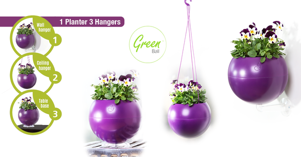 Greenball planter