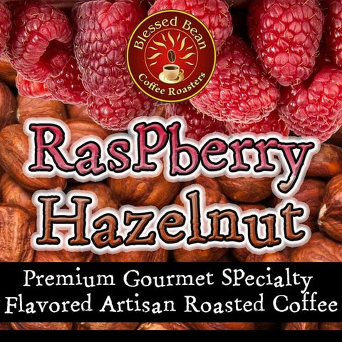 Raspberry Hazelnut flavored coffee