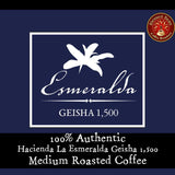 Panama Hacienda La Esmeralda Geisha 1,500. 2 oz. SAMPLER or 12 oz. bag