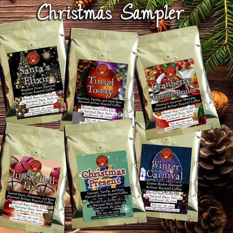 Christmas Flavored Coffee Sampler - Free Shipping within the USA
