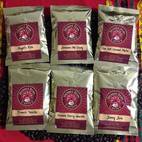 Flavored Coffee SAMPLER..... FREE SHIPPING