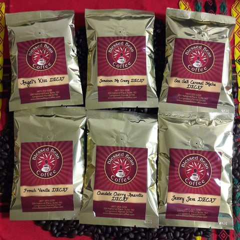 DECAF Flavored SAMPLER... FREE SHIPPING
