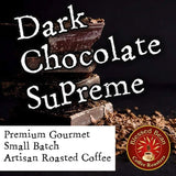 Dark Chocolate Supreme flavored coffee