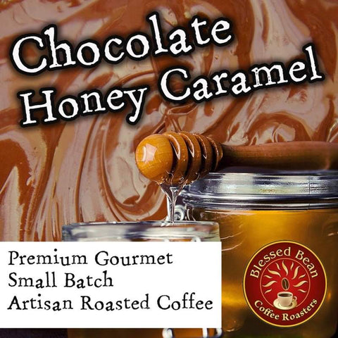 Chocolate Caramel Honey flavored coffee