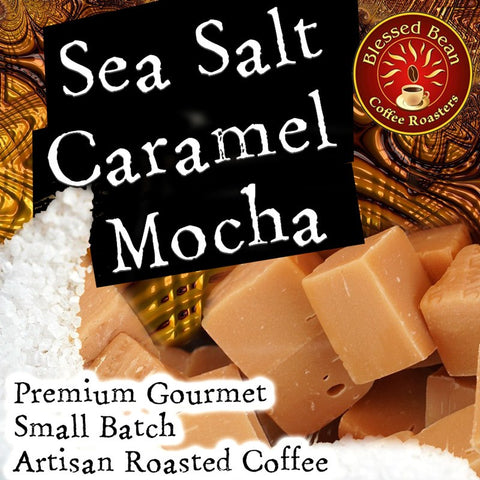 Sea Salt Caramel Mocha flavored coffee