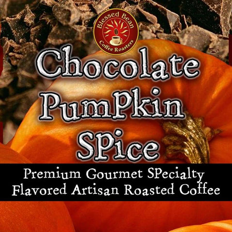 Chocolate Pumpkin Spice flavored coffee