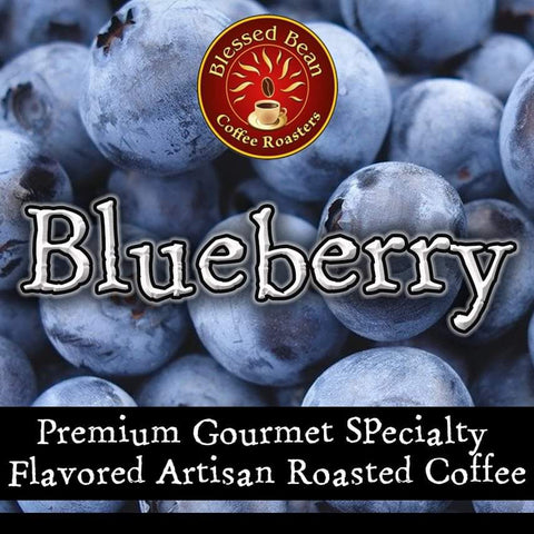 Blueberry Creme Pie flavored coffee