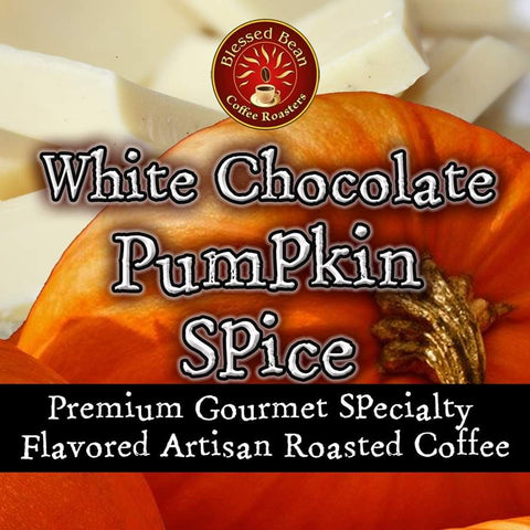 White Chocolate Pumpkin Spice flavored coffee