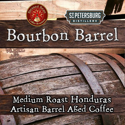 BOURBON Barrel Aged coffee  12 oz.  Holidays: Thanksgiving, Christmas & all holidays