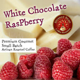 White Chocolate Raspberry flavored coffee