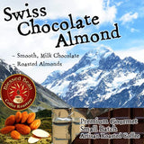 Swiss Chocolate Almond flavored coffee