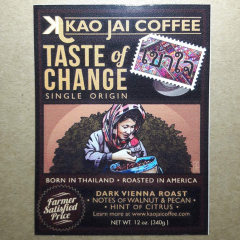 Thailand Kao Jai Dark Roast 12 oz.