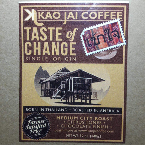 Thailand Kao Jai Medium Roast   12 oz.