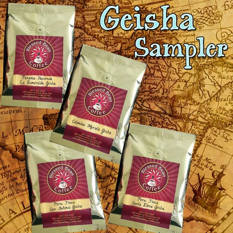 GEISHA Coffee SAMPLER   FREE SHIPPING
